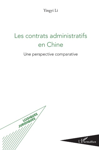 Couverture Les contrats administratifs en Chine