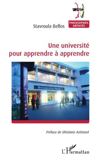 Couverture Une université pour apprendre à apprendre