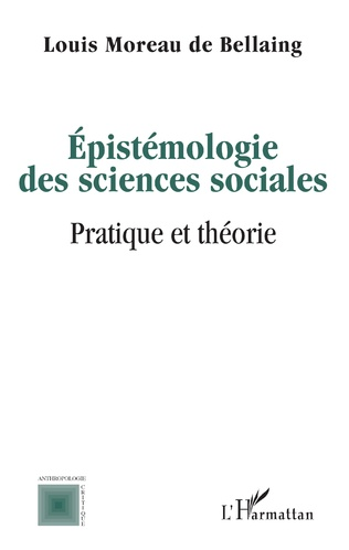 Couverture Epistémologie des sciences sociales