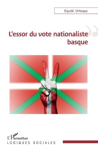Couverture L'essor du vote nationaliste basque