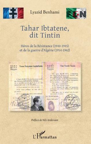 Couverture Tahar Ibtatene, dit Tintin