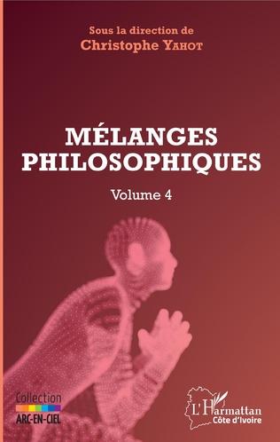 Couverture Mélanges philosophiques Volume 4