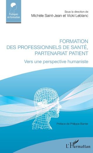 Couverture Formation des professionnels de santé, partenariat patient