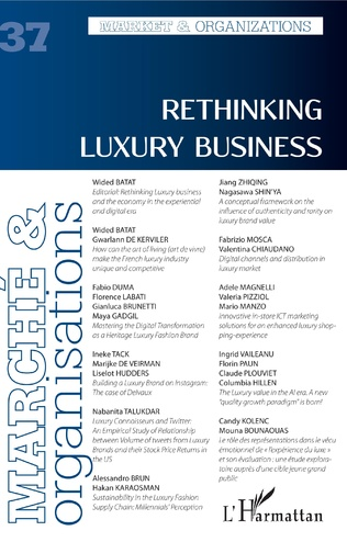 Couverture Rethinking luxury business