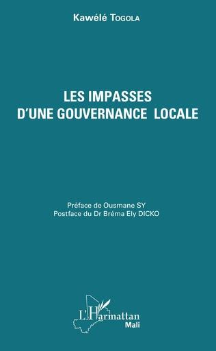 Couverture Les impasses d'une gouvernance locale