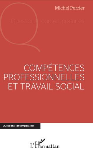 Couverture Compétences professionnelles et travail social