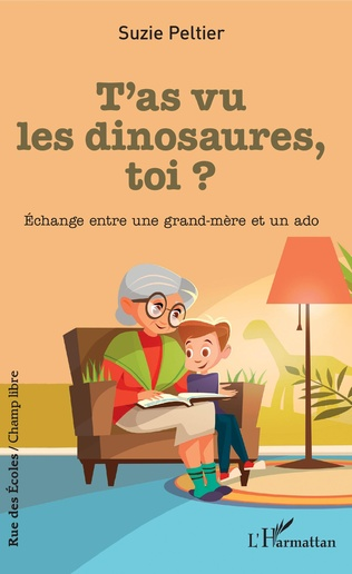 Couverture T'as vu les dinosaures, toi ?
