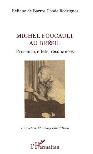 Couverture Michel Foucault au Brésil