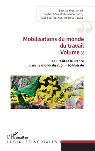 Couverture Mobilisations du monde du travail