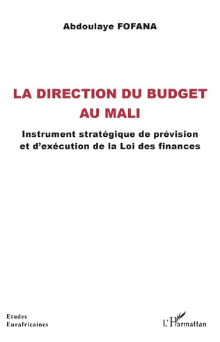Couverture La direction du budget au Mali