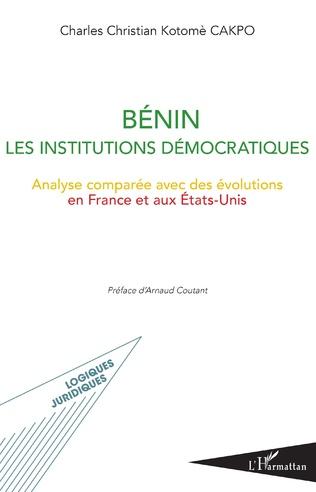 Couverture Bénin les institutions démocratiques