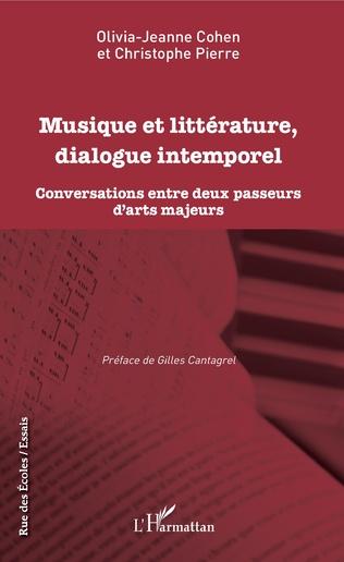 Couverture Musique et littérature, dialogue intemporel