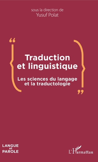 Couverture Traduction et linguistique
