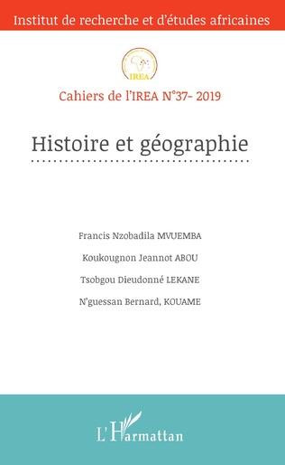 Couverture Histoire et géographie