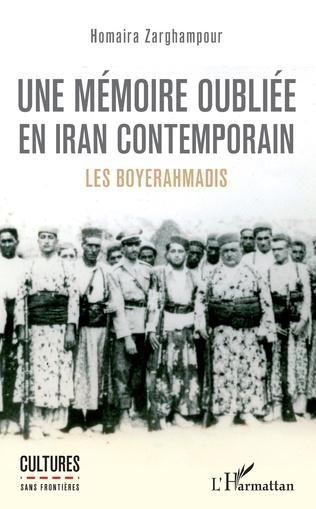 Couverture Une mémoire oubliée en Iran contemporain