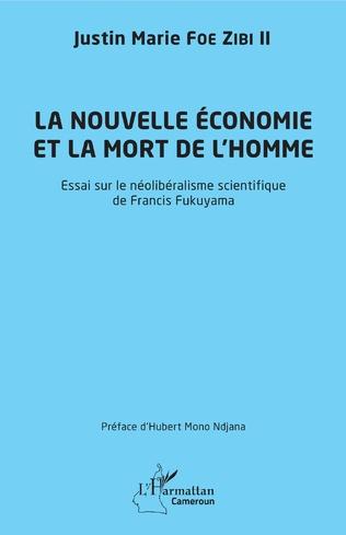 Couverture La nouvelle économie et la mort de l'homme