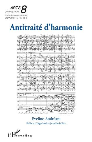 Couverture Antitraité d'harmonie
