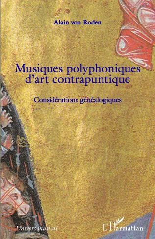 Couverture Musiques polyphoniques d'art contrapuntique