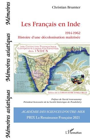 Couverture Les Français en Inde