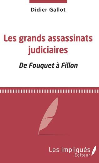 Couverture Les grands assassinats judiciaires