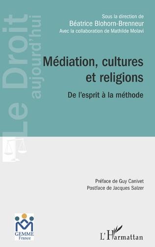 Couverture Médiation, cultures et religions