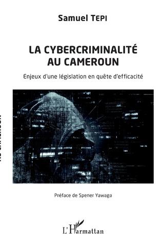 Couverture La cybercriminalité au Cameroun
