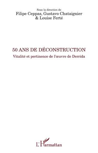 Couverture 50 ans de déconstruction