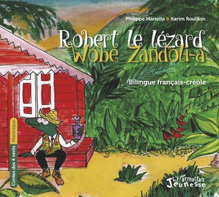 Couverture Robert le lezard