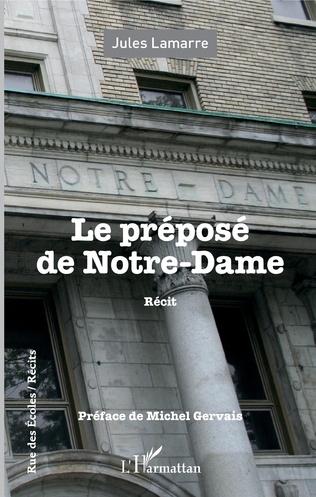 Couverture Le préposé de Notre-Dame