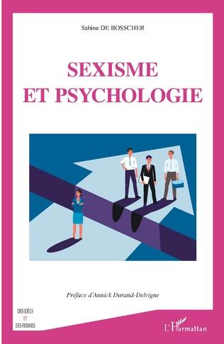 Couverture Sexisme et psychologie