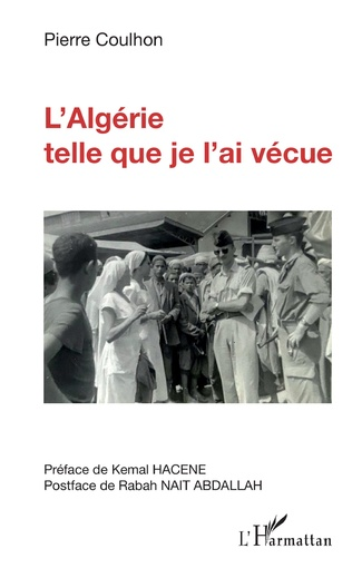 Couverture L'Algérie telle que je l'ai vécue
