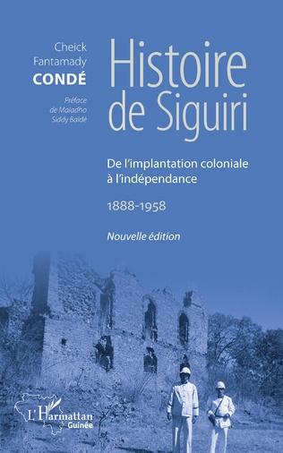 Couverture Histoire de Siguiri (Nouvelle édition)