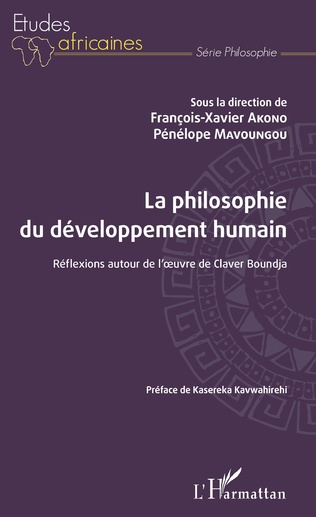 Couverture La philosophie du développement humain