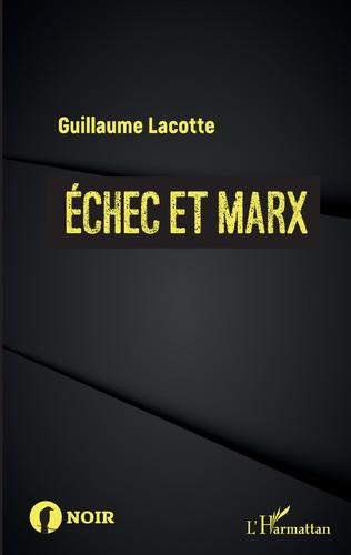 Couverture Échec et Marx