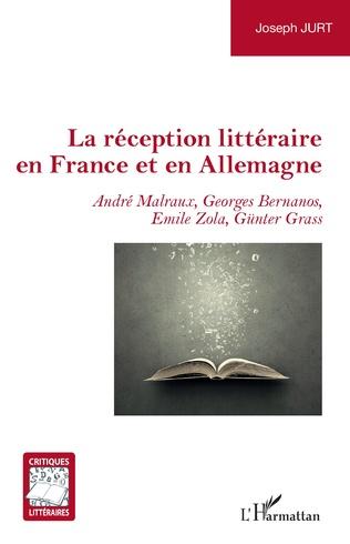 Couverture La réception littéraire en France et en Allemagne