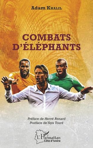 Couverture Combats d'éléphants