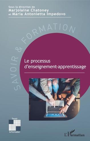 Couverture Le processus d'enseignement-apprentissage