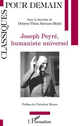 Couverture Joseph Peyré, humaniste universel