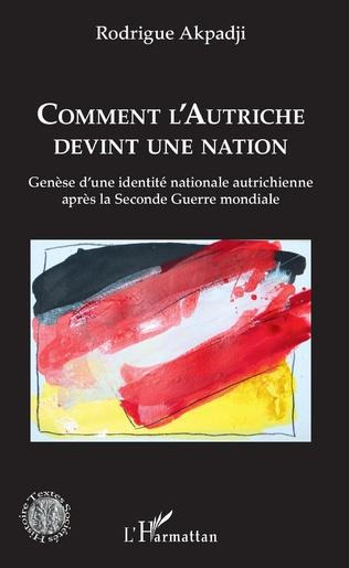 Couverture Comment l'Autriche devint une nation