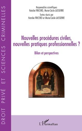 Couverture Nouvelles procédures civiles, nouvelles pratiques professionnelles ?