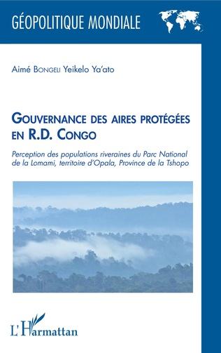 Couverture Gouvernance des aires protégées en R.D. Congo