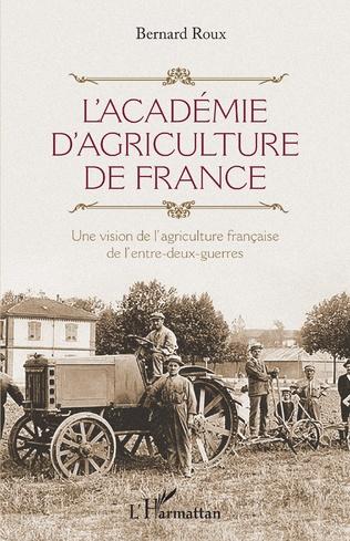 Couverture L'Académie d'agriculture de France