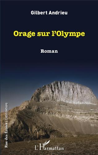 Couverture Orage sur l'Olympe