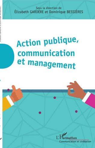 Couverture Action publique, communication et management