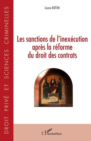 Couverture Les sanctions de l'inexécution après la réforme du droit des contrats