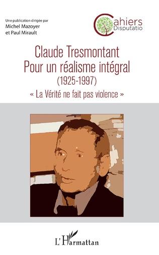 Couverture Claude Tresmontant