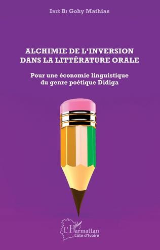 Couverture Alchimie de l'inversion dans la littérature orale