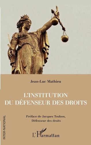 Couverture L'institution du Défenseur des droits