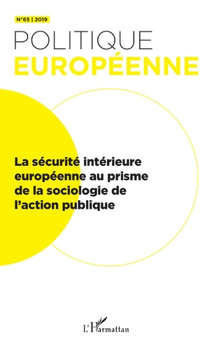 Couverture La sécurité intérieure européenne au prisme de la sociologie de l'action publique