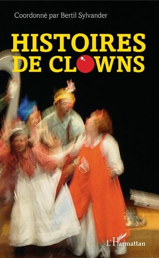 Couverture Histoires de clowns